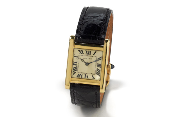 Vintage Cartier Tank Watch Paris, circa 1940